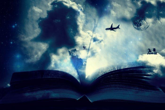 素敵な物語が載っている本